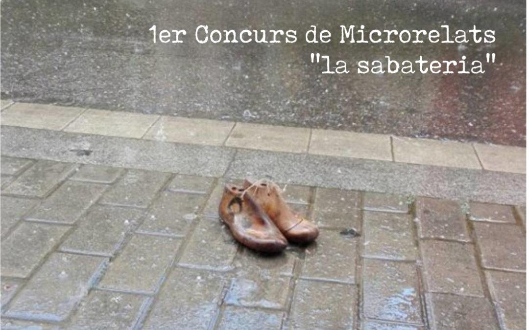 "Concurs de Microrelats    ""la sabateria"""